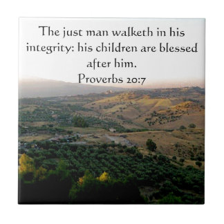 Father's Day Italy & Scripture Gifts Tile