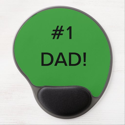 Fathers Day Mousepads! Gel Mouse Pad