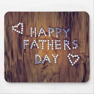 Father's Day Nails Mouse Pad