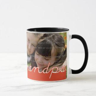 Father's Day Personalized Photo Mug for Grandpa