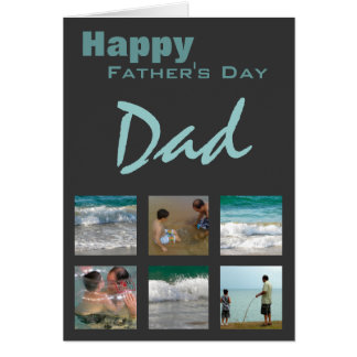 Father's Day Photo Template Card