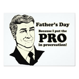 Father's Day PROcreation Card