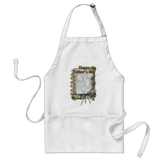 Fathers Day - Stone Paws - ADD YOUR PET PHOTO Adult Apron