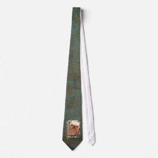 Fathers Day - Stone Paws - Brussels Griffon Tie