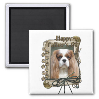 Fathers Day - Stone Paws - Cavalier - Blenheim Refrigerator Magnets