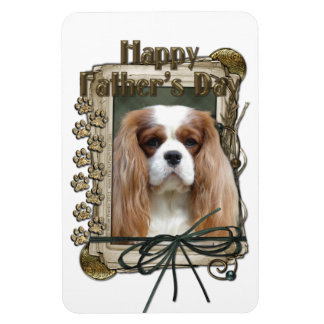 Fathers Day - Stone Paws - Cavalier - Blenheim Magnets