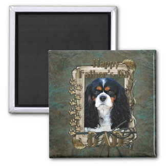 Fathers Day - Stone Paws - Cavalier - Dad Refrigerator Magnets