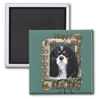Fathers Day - Stone Paws - Cavalier - Dad Magnets