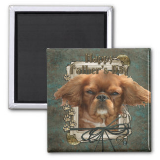 Fathers Day - Stone Paws - Cavalier King Charles Magnet