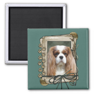 Fathers Day - Stone Paws - Cavalier Magnet