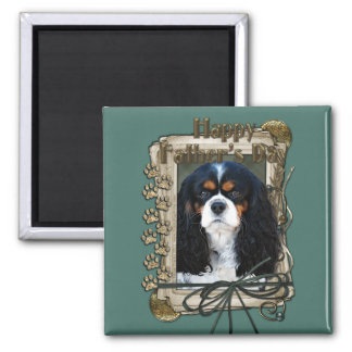 Fathers Day - Stone Paws - Cavalier Fridge Magnet