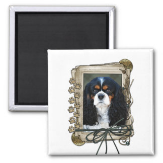 Fathers Day - Stone Paws - Cavalier Refrigerator Magnets