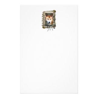 Fathers Day - Stone Paws - Dingo Personalized Stationery