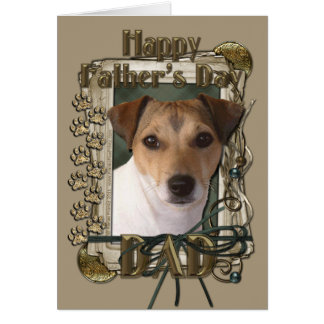 Fathers Day - Stone Paws - Jack Russell Cards