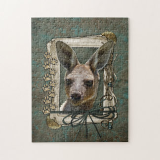 Fathers Day - Stone Paws - Kangaroo Jigsaw Puzzles