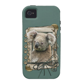 Fathers Day - Stone Paws - Koala iPhone 4/4S Cover