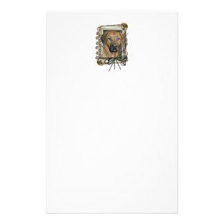 Fathers Day - Stone Paws - Rhodesian Ridgeback Personalized Stationery