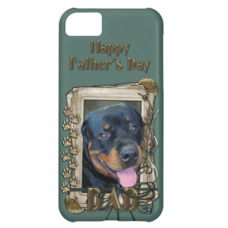 Fathers Day - Stone Paws - Rottweiler - Harley iPhone 5C Case