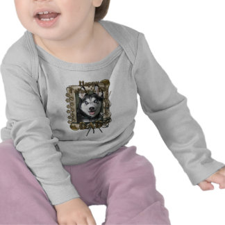 Fathers Day - Stone Paws - Siberian Husky - Dad T-shirts