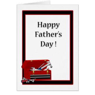 Father's Day Toolbox Card