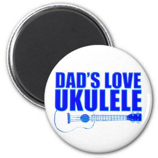 FATHER'S DAY UKULELE MAGNET