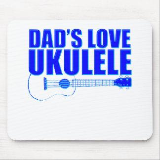 FATHER'S DAY UKULELE MOUSE PAD