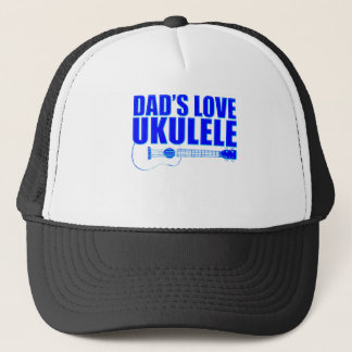 FATHER'S DAY UKULELE TRUCKER HAT