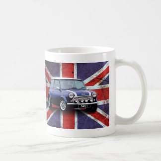 Fathers Day Union Jack Mini Cooper Mug