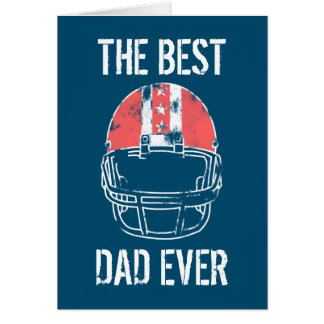 Fathers Day Vintage Football Card