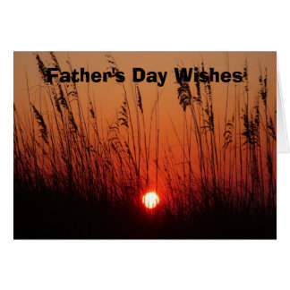 Father's Day Wishes Card