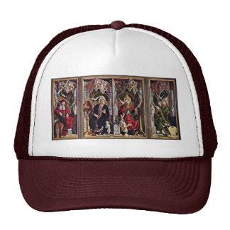 Fathers Of The Church Altar Overview By Pacher Mesh Hats