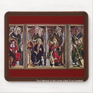 Fathers Of The Church Altar Overview By Pacher Mousepad