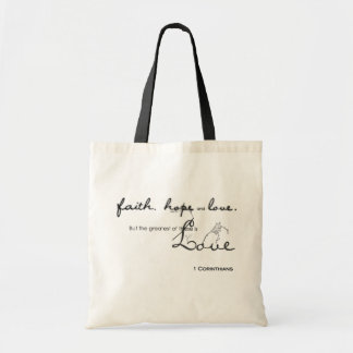 Fatih, Hope, Love Budget Tote Bag