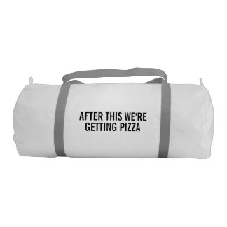 FATTY GYM BAG GYM DUFFEL BAG