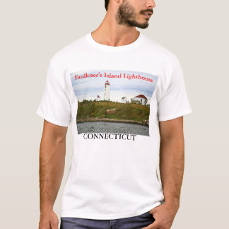 Faulkner's Island Lighthouse, Connecticut T-Shirt