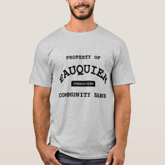 Fauquier Band -- FRENCH HORN T-Shirt