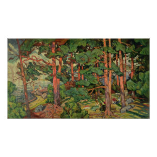 Fauve Landscape, 1910 Poster