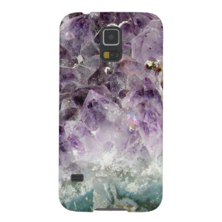 Faux amethyst crystal geode gemstone photo hipster galaxy s5 case