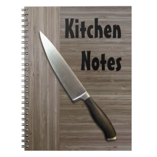 """faux bamboo"" KITCHEN NOTEBOOK"