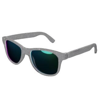 Faux Black Glitter Sunglasses
