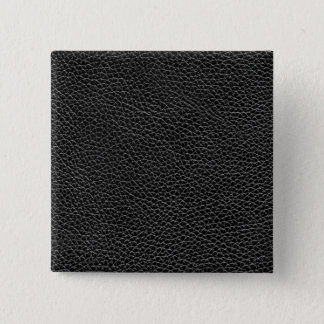 Faux Black Leather 15 Cm Square Badge