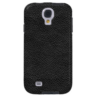 Faux Black Leather Galaxy S4 Case