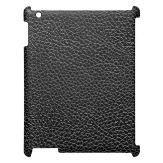 Faux Black Leather iPad Cases