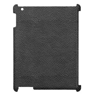 Faux Black Leather iPad Covers
