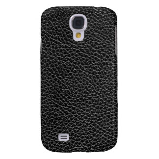 Faux Black Leather Samsung Galaxy S4 Cases