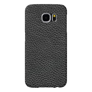 Faux Black Leather Samsung Galaxy S6 Cases