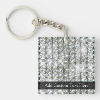 Faux Bling Acrylic Key Chain