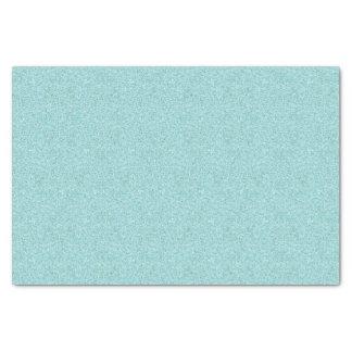 Faux Blue Glitter Tissue Paper