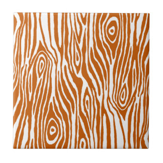 Faux Bois Small Square Tile