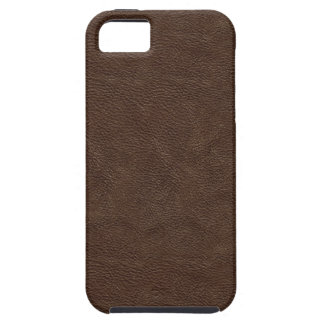 Faux Brown Leather Case For The iPhone 5